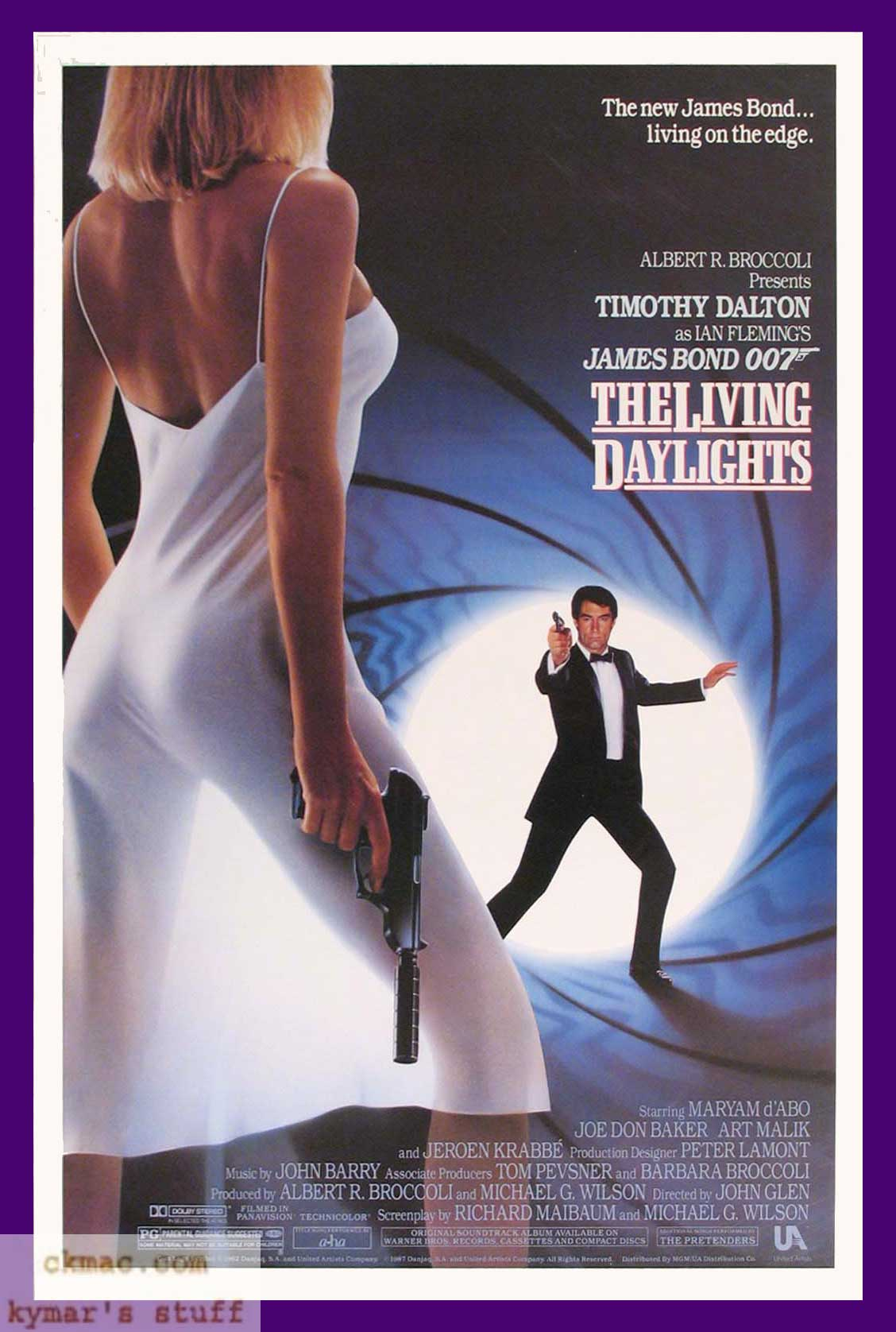 Movie Posters James Bond 007 File